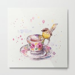There is always time for tea Metal Print