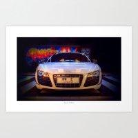 audi Art Prints featuring Audi R8 GT by Urbex :: Siam