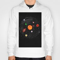 sports Hoodies featuring Solar Sports by Naomi Batts