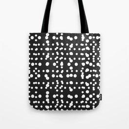 Polka Dot Scramble Tote Bag