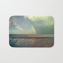 Rainbow Over Sea Bath Mat