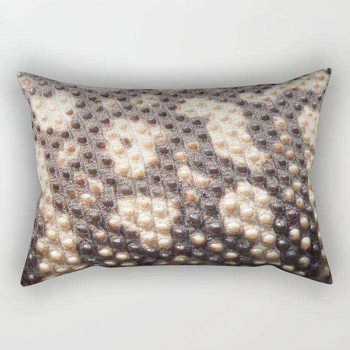 Beaded Skin Rectangular Pillow