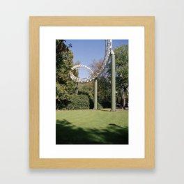 Fears & frills Framed Art Print