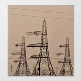 The Pylon Army Canvas Print
