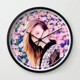 Taissa Farmiga Edit Wall Clock