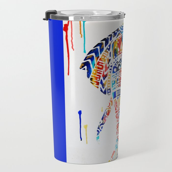 Radiant Elephant Travel Mug