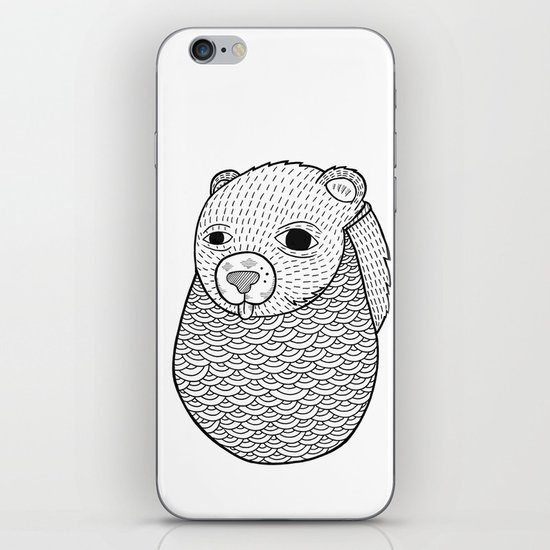 Mr. Rupel's Most Ingenuous Beard for Bears  iPhone Skin