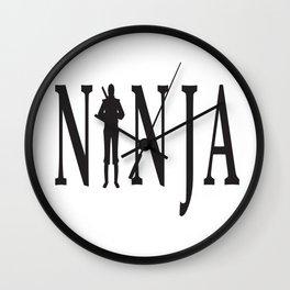 NiNJA Wall Clock