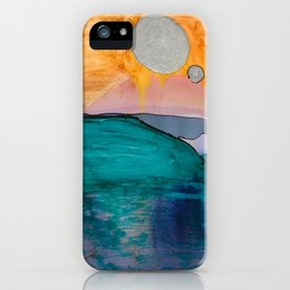 Dreamscapes: The Dreamlands Painting by Katiebug of Katty Candles and Jewelry iPhone Case