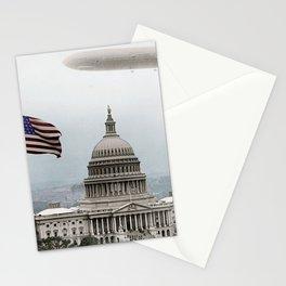 Washington Capitol and Blimp Stationery Cards