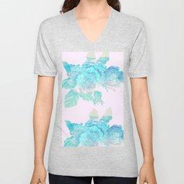 Loose Watercolor Bouquet Unisex V-Neck