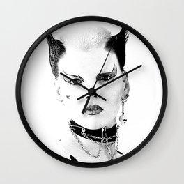 80's Punk Wall Clock