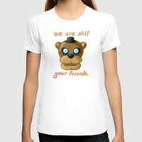 fnaf T-shirts featuring FNAF Freddy Fazbear by Bloo McDoodle