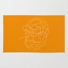 One Line The Thing Rug