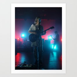 Christian Zucconi of Grouplove at Terminal 5, New York Art Print