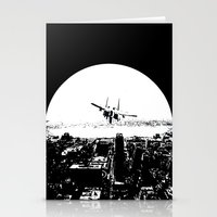 airplane Stationery Cards featuring airplane by Anand Brai
