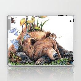 Snoozing Laptop & iPad Skin
