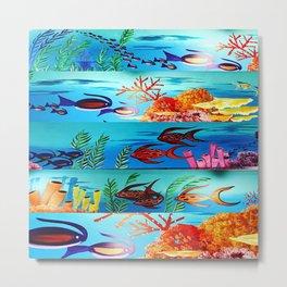 Beautiful Sea Life Metal Print