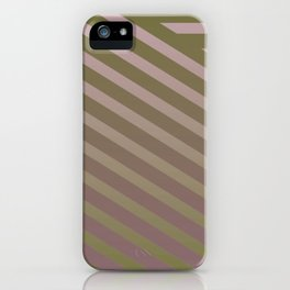 Variation of pattern by grey tones 1 iPhone Case
