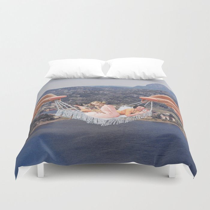 Hangin' Out Duvet Cover