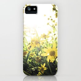 LUV IN THE SUN iPhone Case