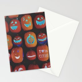 Jack O'Lanterns Stationery Cards
