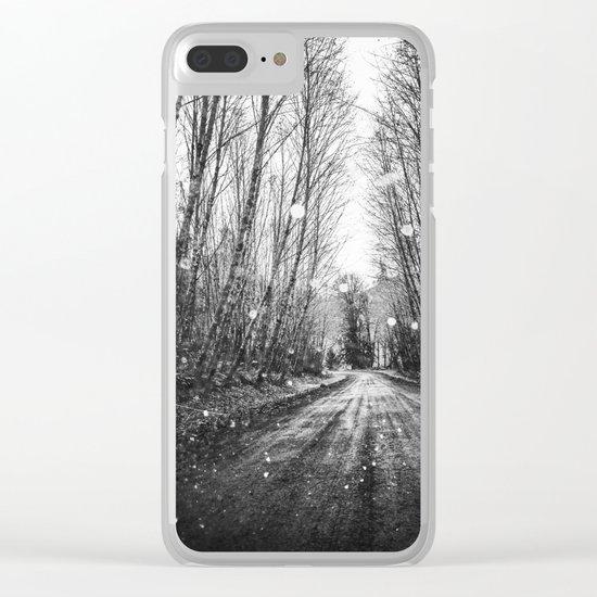 Follow the Fireflies Clear iPhone Case