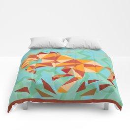 Dancing Mustang // Digital // Illustration Comforters