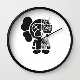 KAWS x MILO Wall Clock