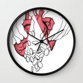 money or love Wall Clock