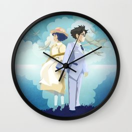 The Wind Rises  Wall Clock