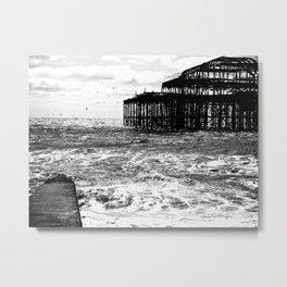 Brighton Ghosts  Metal Print