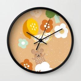 Happy Organising  Wall Clock