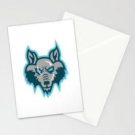 Azgeda Kru Wolf Stationery Cards