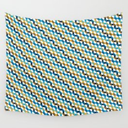 People's Flag of Milwaukee Mod Pattern Wall Tapestry
