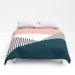 Colorful geometry 2 Comforters