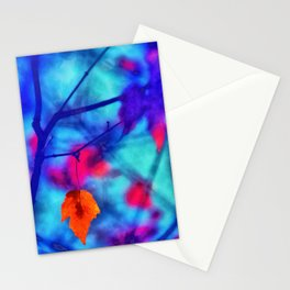 But I miss you most of all my darling, when autumn leaves start to fall... Stationery Cards