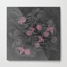 Plants Flowers and Your Fruit Metal Print