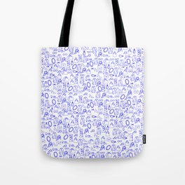 Girly Pattern Tote Bag