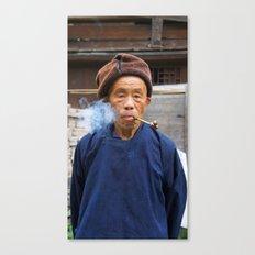 Long-Skirt Miao minority in China Canvas Print