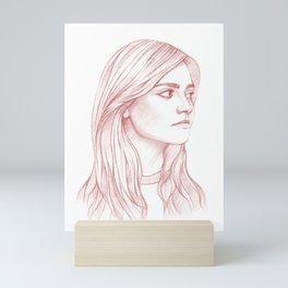 Clara Oswald Mini Art Print