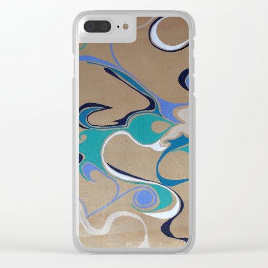 Design Element Clear iPhone Case