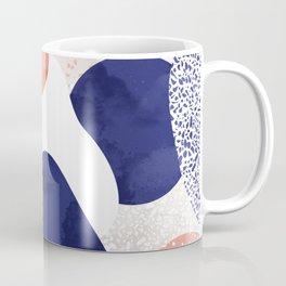 Terrazzo galaxy pink blue white Coffee Mug