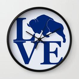 Lovin' Buffalo Wall Clock