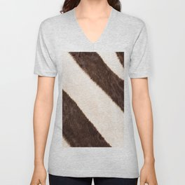 Zebra - stripes - #society6 #buyart #decor Unisex V-Neck