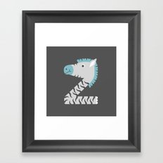 For Baby Zion Framed Art Print