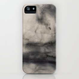 Abstract watercolor #12 - Abstract landscape - Abstract watercolour painting iPhone Case