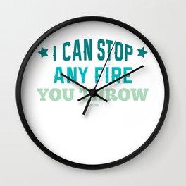 Fire Department Fire Hero emergency gift Wall Clock