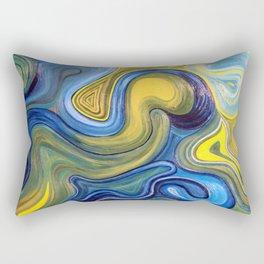 Crazy Circles Rectangular Pillow
