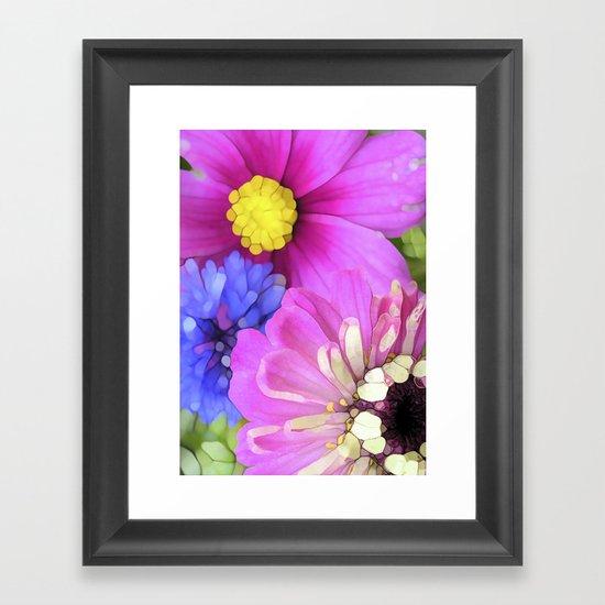 For the Love of Color Framed Art Print